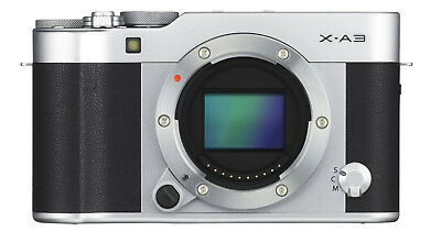 Fujifilm X-A3 Mirrorless Digital Camera Body ONLY (Silver) - Used - Please READ