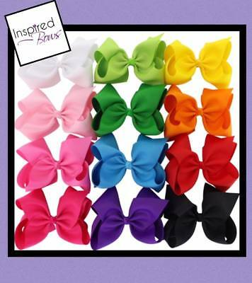 Big 8 inch Jojo style bow - 12 colors included
