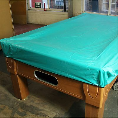 AQUA Heavy Gauge Soft Vinyl Waterproof Pool Table Cover - For 6ft Tables