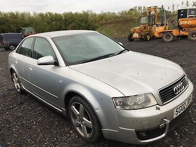 Audi A4 B6 For Breaking 1.9 Tdi Pd130 Saloon Spares Parts Silver Ly7W Leather
