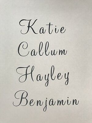 Personalised Wine Glass Decal