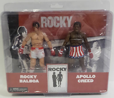 Rocky : Rocky Balboa & Apollo Creed Action Figure Set Made By Neca In 2012