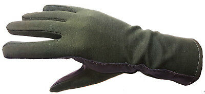 New Nomex Gloves, Fire Resistant, Pilot, Racing, In Olive Green, Sizes M, L, Xl
