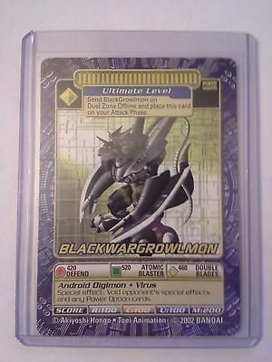 Digimon Card Blackwargrowlmon BO-223 NM/M