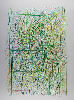 Hermann Nitsch - Drawing 4 - Autographed and Numbered