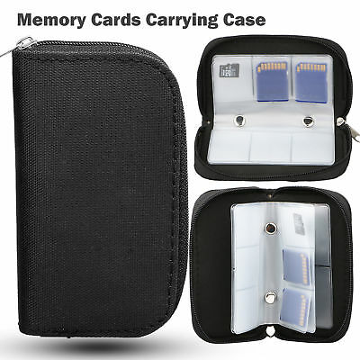 Memory Card Storage Carrying Case Pouch Holder Wallet for CF/SD/SDHC/MS/DS 3DS
