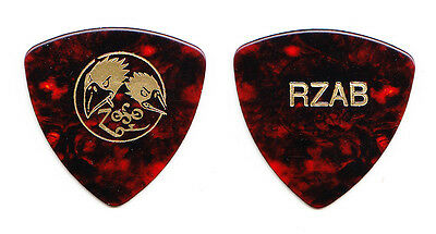 Black Crowes & Jimmy Page Greg Rzab Brown Bass Guitar Pick - 2000 Tour