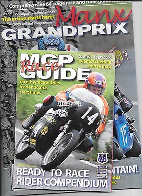 Isle Of Man T.T. Races Official 2009 Programme & Race Guide