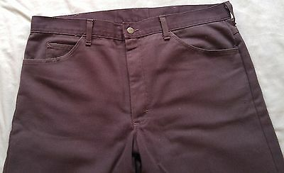 Vintage brown Lee Riders jeans Union Made in USA