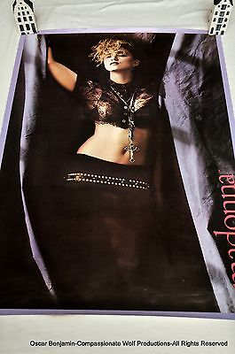 Madonna Poster!  1984 Boy Toy Era!  Out Of Print!  Very Rare!