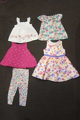 Girls Size 2 Bulk lot Spring/Summer clothing - 5 pcs Sprout,h+t,Dymples,All 4 Me