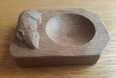 Mouseman Robert Thompson Pin Dish Excellent Condition