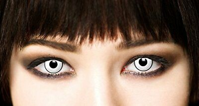 Lentillas de Color Blanco Ideal para Halloween. Duracion 3 meses