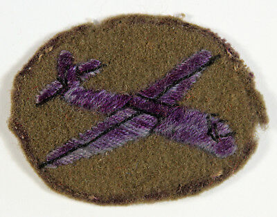 Glider-Borne Troops WW2 Embroidered Arm Badge