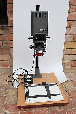 Photographic Enlarger Meopta Axomat 5 Complete With 50Mm Lens Timer And Easel