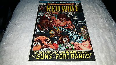 Red Wolf #1 (May 1972, Marvel) ..1ST ISSUE!! ..FINE/FINE +...RED WOLF AND LOBO!!