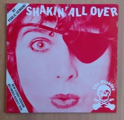 The Pirates: Shakin' All Over - Warner K 17231 - Oct 1978 UK Pressing - Ex Cond