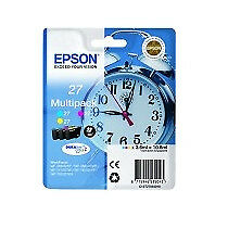Cartucho Original Epson 27 Xl Multipack Cy/mg/yl-Cd Blu-Ray Rw Dvd Alta Calidad