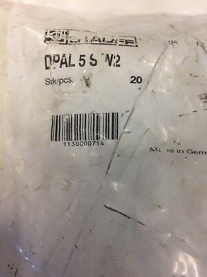 20 X Stauff - DPAL 5 S W2 Cover Plates Free UK Postage