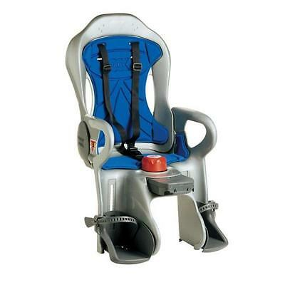 OK BABY SIRIUS RECLINING BABY / CHILD SEAT FITS ON REAR OF BIKE SILVER TO 22kgs