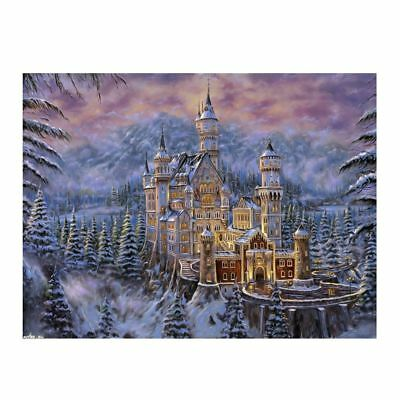 "Diamond Painting - Diamant Malerei - Stickerei - ""Traumschloß"" - Set - Neu (761)"