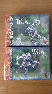 Rackham Confrontation Worg Waxing and Waning Moon Wolfen Box Sets OOP Metal