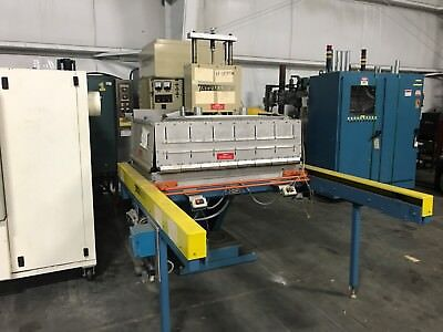 Thermatron F10-30 Platen Press With Front Load Shuttle, 10kW # YF-107M