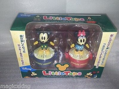 Little Taps Disney Mickey & Minnie Mouse Littletaps Japan RARE (Display only)
