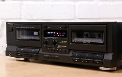 TECHNICS RS-TR232 Double cassette tape deck Dolby B C HX Pro auto reverse JAPAN
