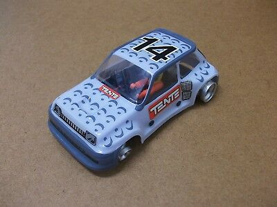 """Scalextric Exin-Srs / Renault-5 Turbo """"tente"""""""
