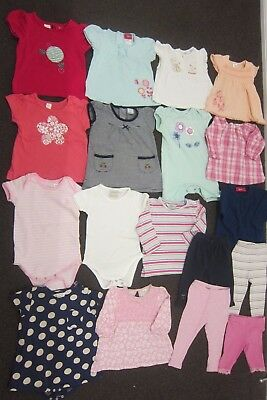 Baby Girls Size 0 bulk lot - 19 pcs Sprout,Papoose Mini,Milky,Bebe,Marquise