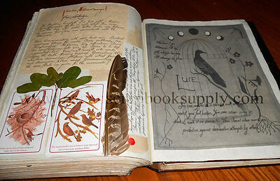 Practical Magic Owens' Family Spell Book - FAUX Leather Bound Book of Shadows