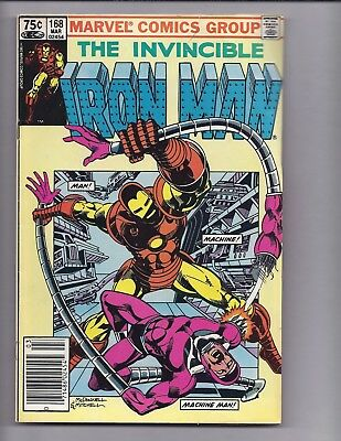 Canadian Newsstand Edition $0.75 Price Variant Iron Man #168
