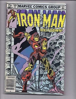 Canadian Newsstand Edition $0.75 Price Variant Iron Man #165