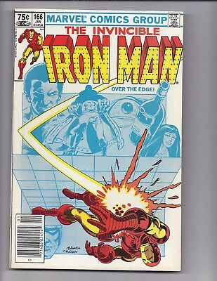 Canadian Newsstand Edition $0.75 Price Variant Iron Man #166