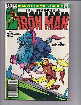 Canadian Newsstand Edition $0.75 Price Variant Iron Man #163