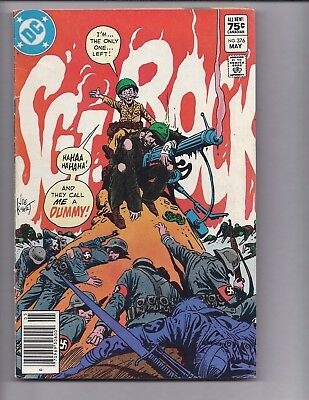 Canadian Newsstand Edition $0.75 Price Variant SGT Rock #376