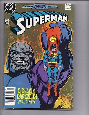 Canadian Newsstand Edition $1.00 Price Variant Superman #3