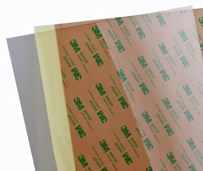 254x224x0.25 PEI adhesive backed sheet for 3D printers Prusa i3 Mk2 and others