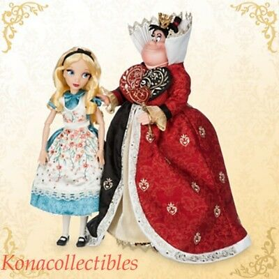 Disney Fairytale Designer Doll Set Alice In Wonderland  & Queen