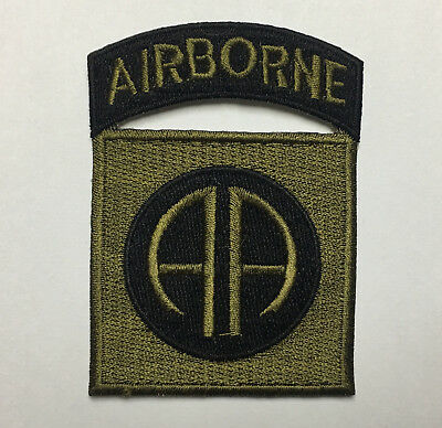 Wwii Us Army 82Nd Airborne Division Paratrooper Shoulder Patch -1078