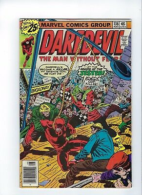 Daredevil #136   A Hanging for a Hero   6.5     (Colin/ Tim V)