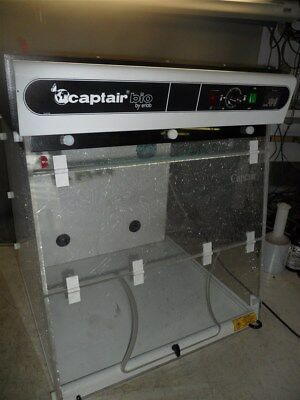 CAPTAIR BIO by ERLAB-BIOCAP DNA BENCHTOP HOOD with UV-TIMER-COVER INTERLOCK