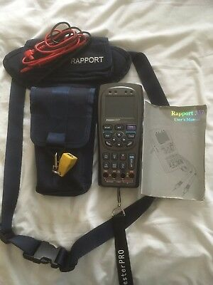 Professional CCTV tester and setup monitor Rapport 337 inc PTZ control