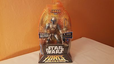 Star Wars - 2005 Jango Fett Force Battlers
