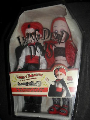 LIVING DEAD DOLL dolls Exclusive The Great Zombini And Viv NEUF gothique gothic