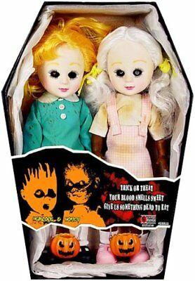 Living Dead Doll Exclusive Hemlock And Honey (Trick Or Treat), très rare NEUVES