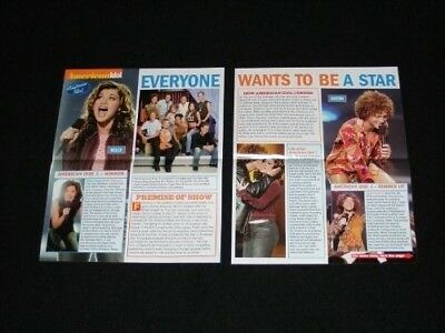 AMERICAN IDOL magazine clippings lot No1