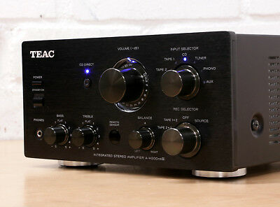 TEAC A-H300 MK3 Stereo Integrated Hi-Fi Amplifier with Phono input 99p NR
