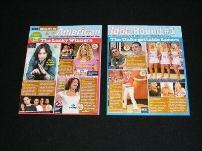 AMERICAN IDOL magazine clippings lot No3